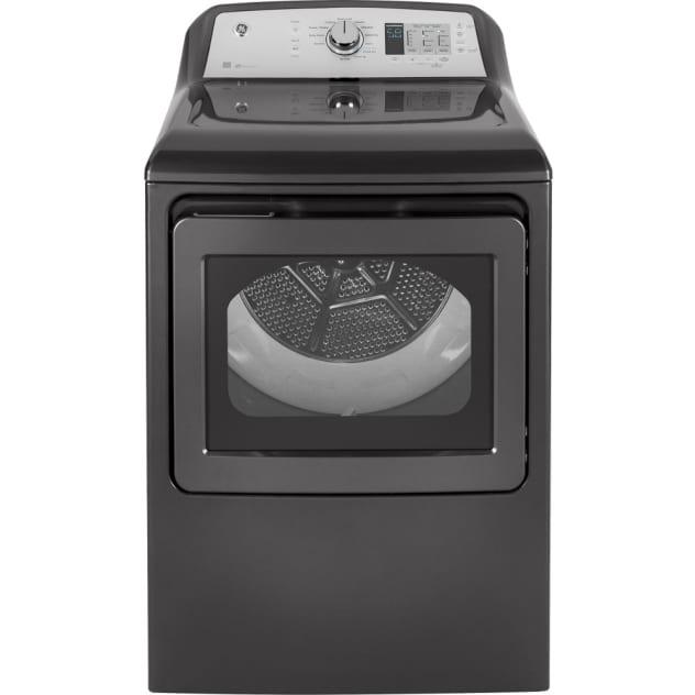 GE® 7.4 Cu. Ft. Capacity Aluminized Alloy Drum Gas Dryer w/ HE Sensor Dry - GTD65GBPLDG