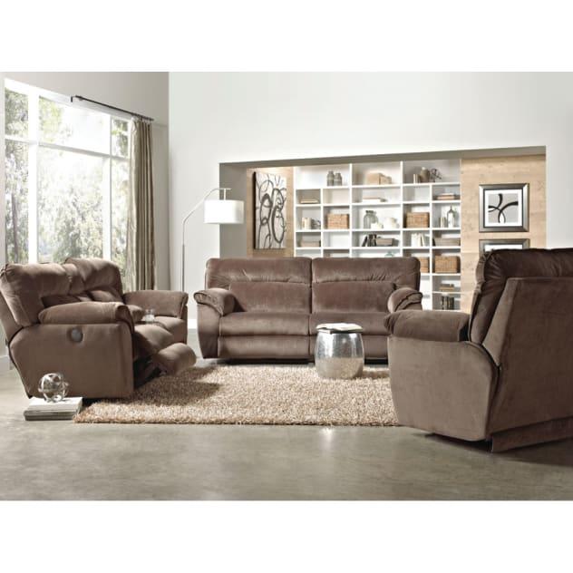 Nobel Plush Living Room - Reclining Sofa & Loveseat - 118109