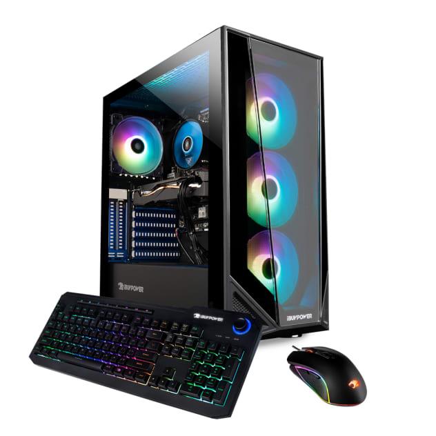 iBUYPOWER Trace4MR 179A Gaming Desktop - AMD Ryzen 7 3700X, 16GB DDR4, 480GB SSD, 1TB HDD, RTX 2060 6GB, Wi-Fi Included, Windows 10 Home