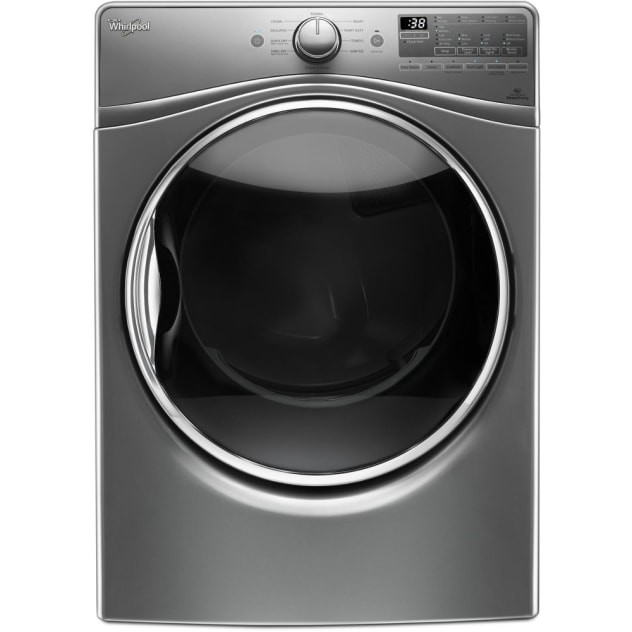 Whirlpool 7.4 cu.ft Front Load Gas Dryer with Advanced Moisture Sensing, EcoBoost™ - WGD92HEFC