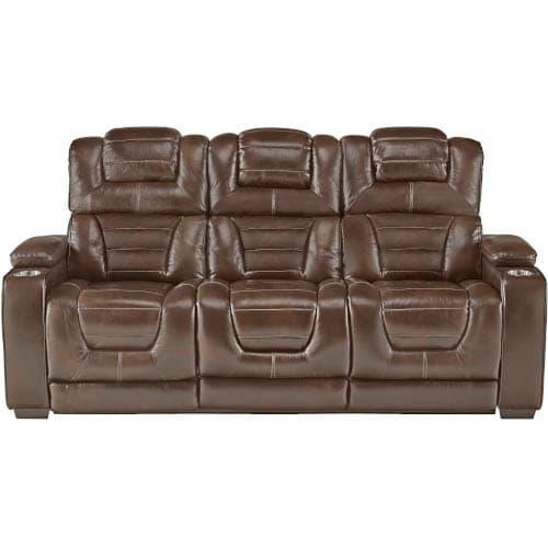 Titanium Reclining Sofa - 7390139HR