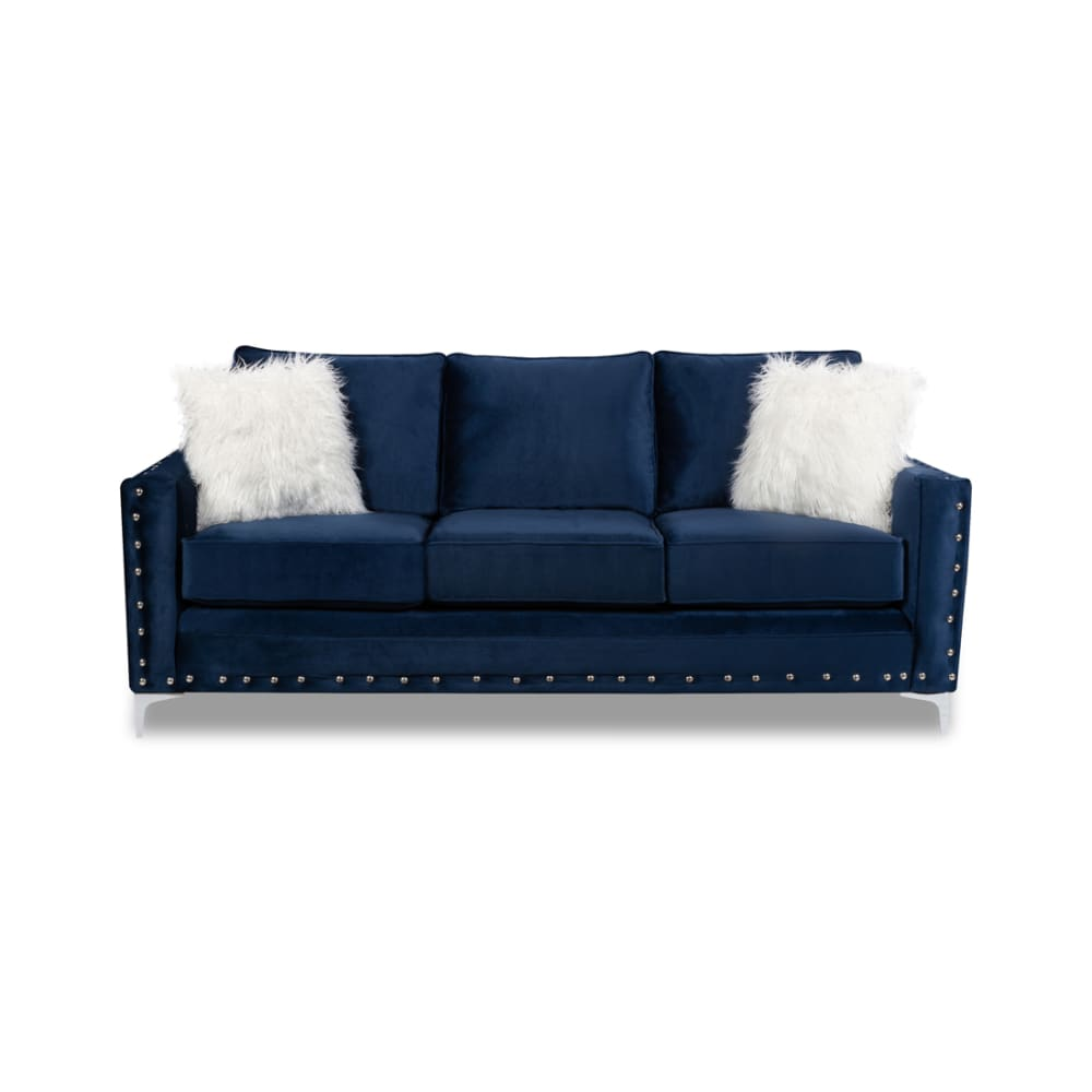 Adrian Blue Collection Sofa