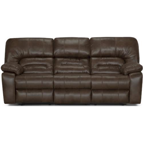 Dakota II Rustic Dual Reclining Sofa