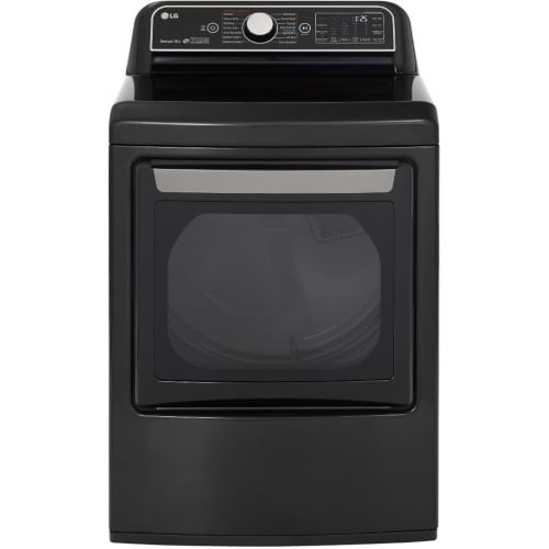 LG 7.3 Cu. Ft. Smart wi-fi Enabled Gas Dryer with TurboSteam™  - DLGX7901BE