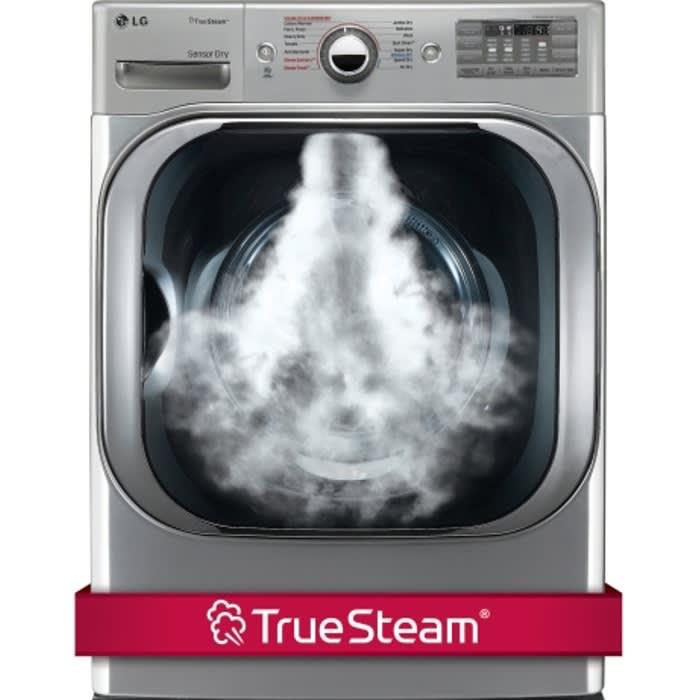 LG 9.0 Cu. Ft. Mega Capacity Electric Dryer w/ Steam™ Technology - DLEX8100V