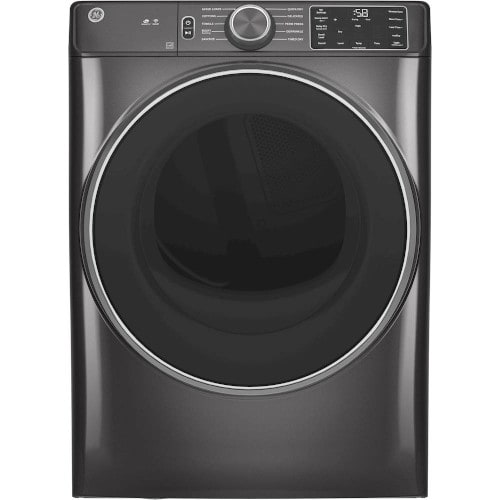 GE® 7.8 cu. ft. Smart Front Load Gas Dryer with Sanitize Cycle