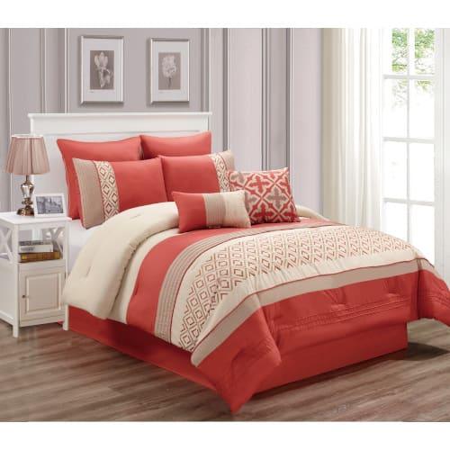 Lindy 6 Piece Comforter Set - Queen - 80286