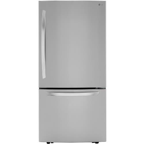 LG 26 cu. ft. Bottom Freezer Refrigerator - LRDCS2603S