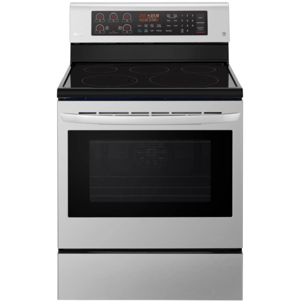 LG 6.3 Cu. Ft. Electric Single Oven Range w/ True Convection and EasyClean® - LRE3194ST