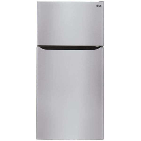 "LG 24 Cu. Ft. 33"" Wide Top Mount Refrigerator - LTCS24223S"