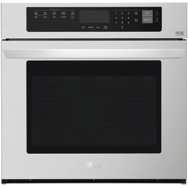 """LG 30"""" 4.7 Cu. Ft. Built-In Single Wall Oven - LWS3063ST"""