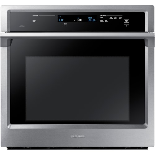 """Samsung 30"""" Single Wall Oven in Stainless Steel - NV51K6650SS"""