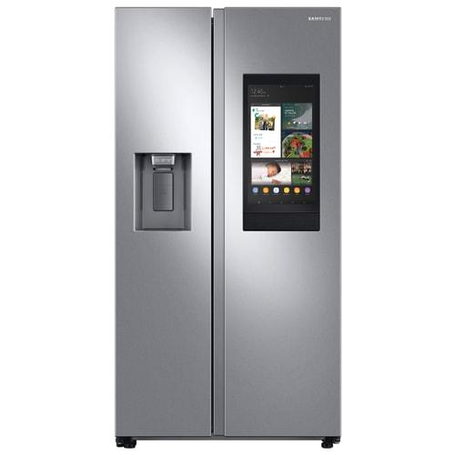 Samsung 26.7 cu. ft. Family Hub Side by Side Smart Refrigerator - RS27T5561SR