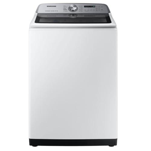 Samsung 5.0 Cu. Ft. Top Load Washer w/ Super Speed- WA50R5400AW