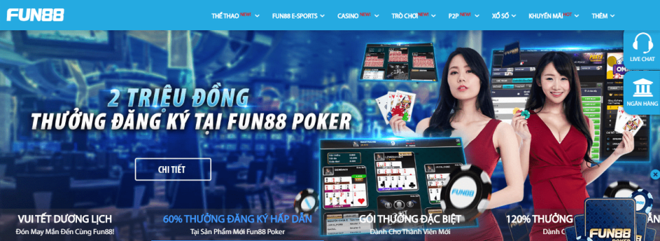 fun88 casino so 1 homepage
