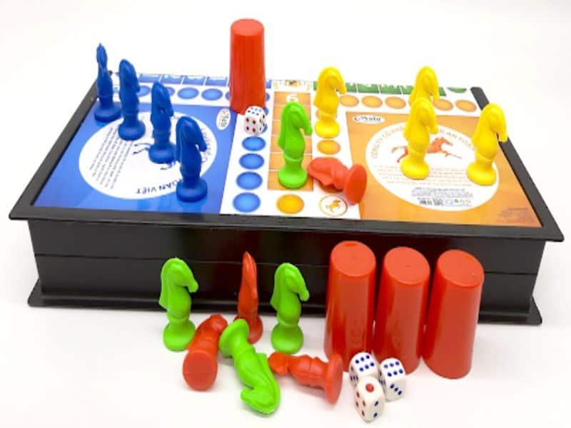 Hướng dẫn cách chơi cờ cá ngựa online 4 người chơi cực hay