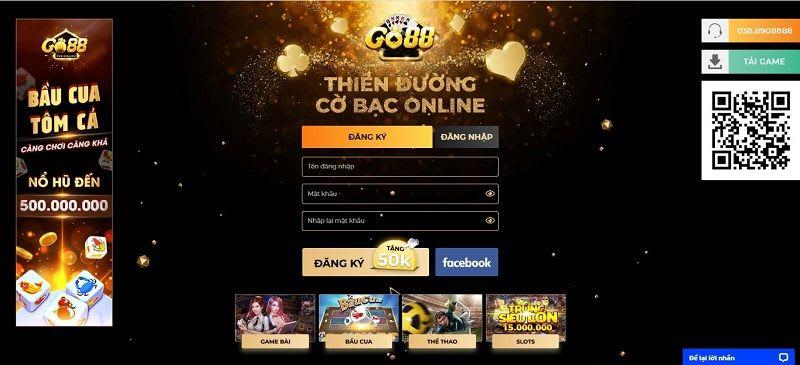 dang ky go88 - Go88 - cổng game bài đổi thưởng có sức hút mãnh liệt hiện nay
