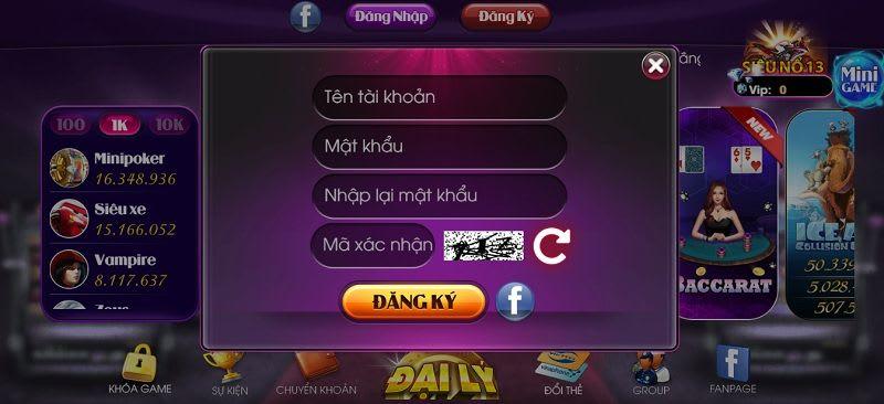 dang ky sieu hu - Siêu Hũ – cổng game bài lớn nhất Việt Nam, chơi là thắng