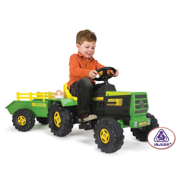 Injusa Tractor with Trailer