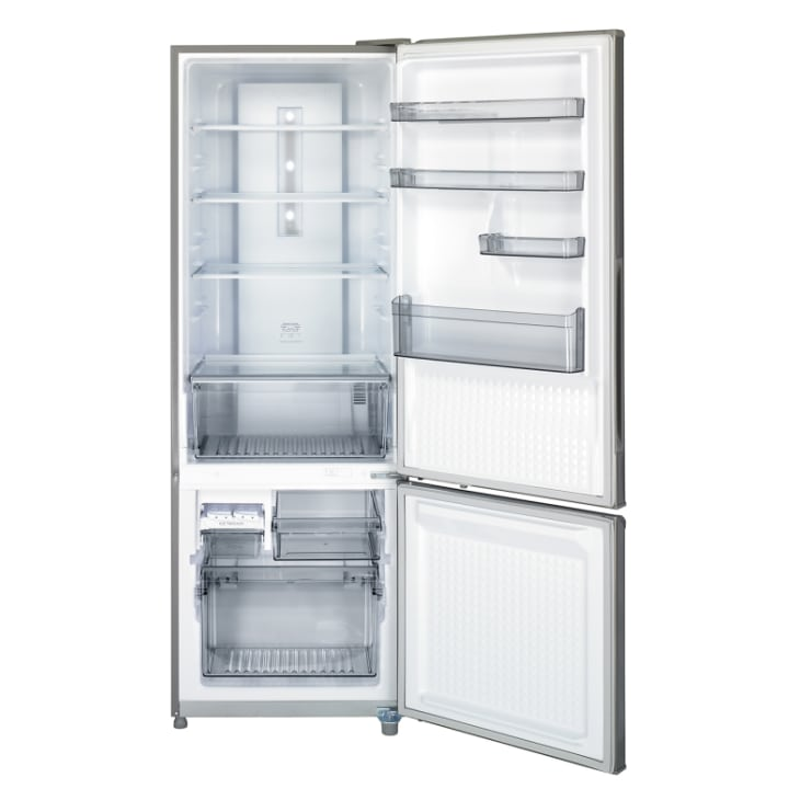 Panasonic 342L Stainless Steel Bottom Mount Refrigerator