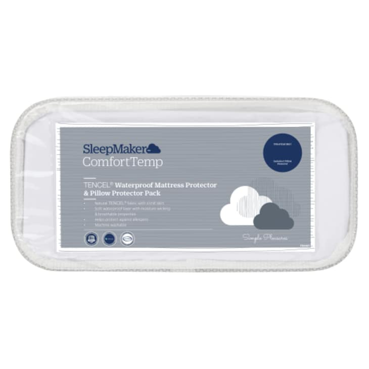 SleepMaker Mattress and Pillow Protector Set Single