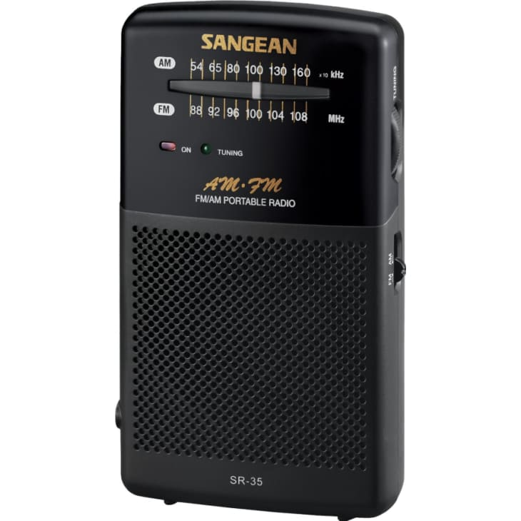 Sangean  FM / AM Hand-held Receiver with Built-in Speaker