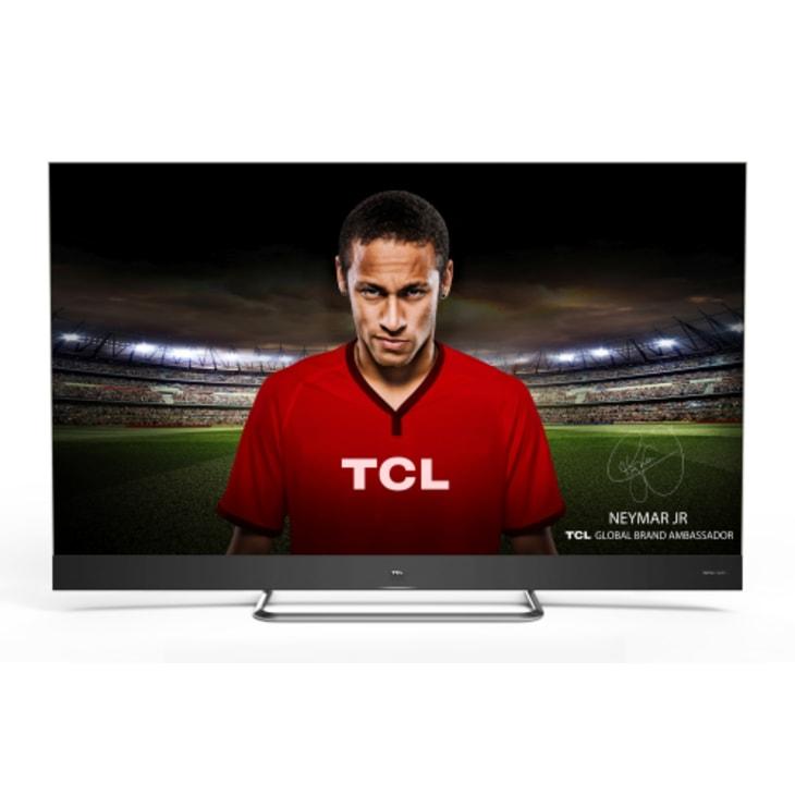 """TCL 55"""" 4K QLED Smart TV"""