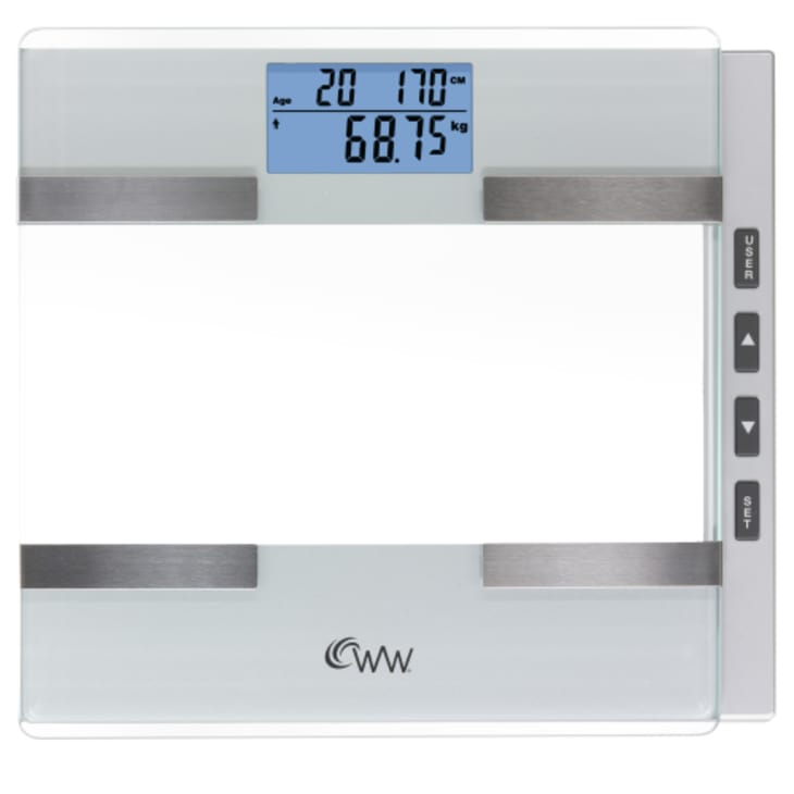 Weight Watchers Weight Tracking & Body Composition Plus Electronic Scale - Display Model Botany Store Only