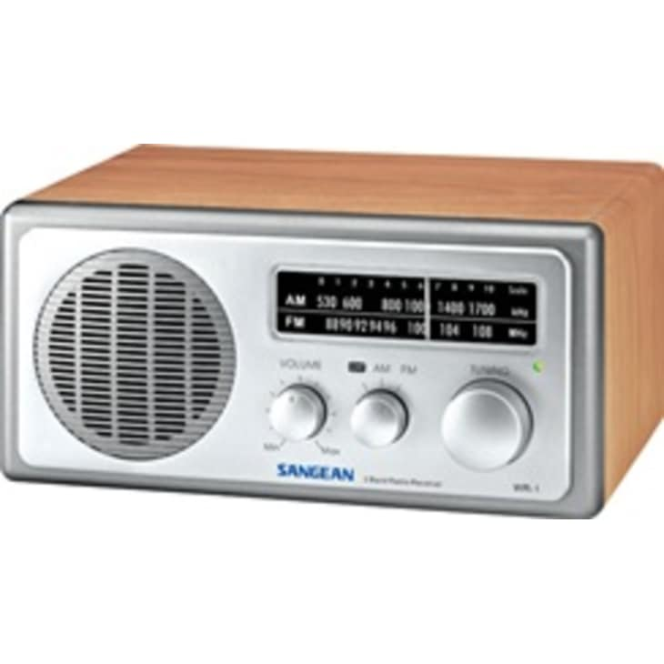 Sangean TABLE TOP RADIO WALNUT