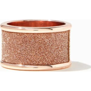 Marcelle Rose Gold Shimmer Ring from Charming Charlie