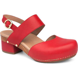 Malin Mary Jane Block Heel Clogs mKO6YJh0