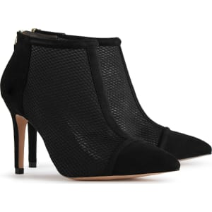 Reiss Davina - Mesh-panel Ankle Boots in Black, Womens