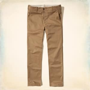 bdd300418 Guys Epic Flex Classic Straight Chino Pants from Hollister from ...