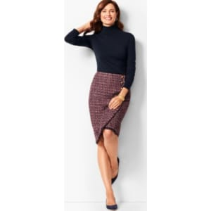 bb4b445f00 Talbots: Tweed Pencil Skirt from Talbots.