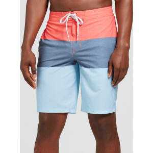 3e585ec315 Men's 10 Trooper Board Shorts - Goodfellow & Co Red 28 from Target.