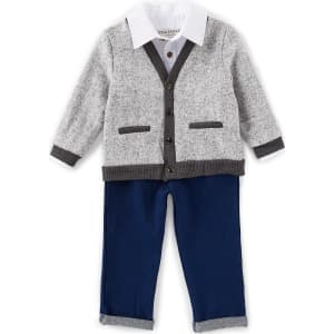 82849eafc Little Brother Baby Boys 12-24 Months Cardigan
