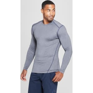 87972edc Men's Long Sleeve Compression Shirt - C9 Champion Charcoal Grey Xxl ...