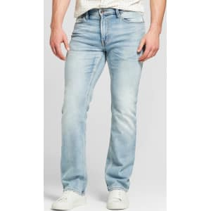 26d9449e Men's Straight Fit Jeans with Coolmax - Goodfellow & Co Natural ...