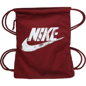 Nike Heritage Drawstring Backpack Accessories (Team Red White) from ... c1919b4c6d4ab