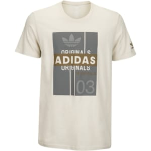 0bb0eb216 Adidas Originals Graphic T-Shirt - Mens - Clear Brown/Grey/Olive ...