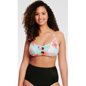 6eb6ce8e72 Beach Betty by Miracle Brands Women's Bikini Swim Top Floral ...