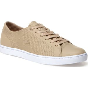 745c66d713e0d Lacoste Women s Showcourt Leather Sneakers - Natural from Lacoste.
