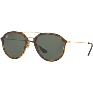 c43a528705d1 Ray-Ban Rb4253 Aviator Sunglasses, Tortoise/Grey from John Lewis ...
