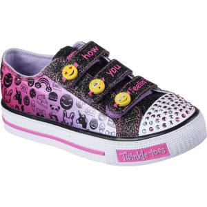 c448c49045a4 Skechers Girls' Twinkle Toes Shuffles Expressionista Multicolor ...