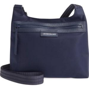 1c4ff366a7a2 Longchamp  Le Pliage Neo  Nylon Crossbody Bag - Blue from Nordstrom.