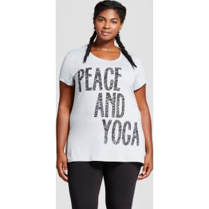 e756fbe75 Women's Plus-Size Graphic T-Shirt - C9 Champion - Dark Gray Heather ...