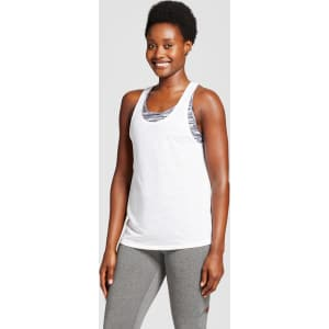 4229d73753934 Women s 2-In-1 Tank Top - C9 Champion - White Xxl from Target.