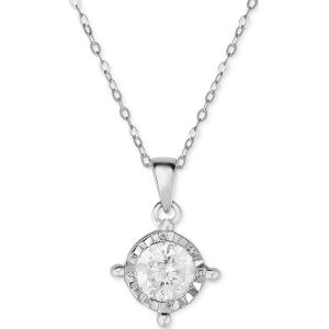 Trumiracle diamond pendant necklace 58 ct tw in 14k white gold trumiracle diamond pendant necklace 58 ct tw in 14k white gold aloadofball Images