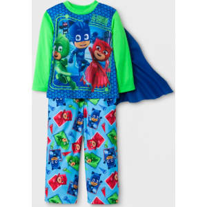 Toddler Boysu0027 Pj Masks Pajama Set   Green 2t