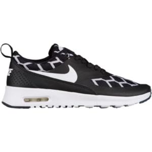 Girls Nike Air Max Thea - Grade School - Black White Black from ... f90ca16ac